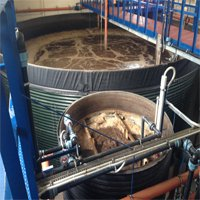 Оборудование очистки сточных вод свинокомплекса, по технологии Мембранного биологического реактора (МБР)