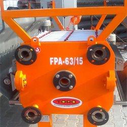 Оборудование обезвоживания осадка от системы водоподготовки