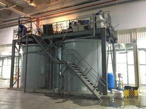 оборудования очистки и оборотного водоснабжения линия мойки овощей