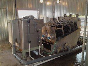постачання та інсталяція комплексу обладнання для обробки осаду потужністю