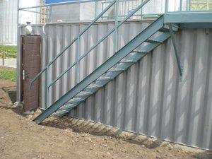 монтажні роботи з інсталяції контейнерних модулів по очистці господарчо-побутових стічних вод