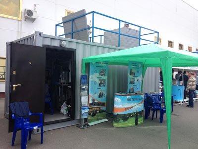Научно-инженерный центр Потенциал-4 на выставке Аква-Терм в Киеве